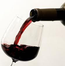 vino in bicchiere